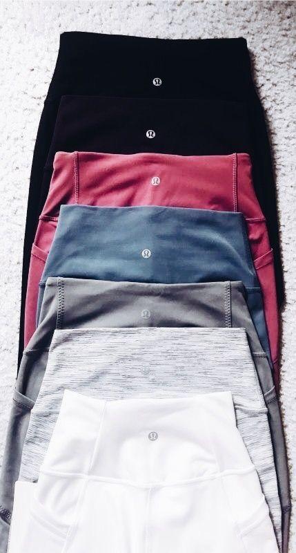 lululemon leggings. Visit Daily Dress Me at dailydressme.com for more inspiratio... 10