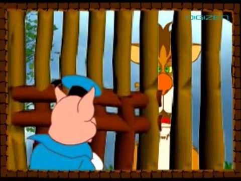 The Three Little Pigs In English  Watch ): The famous stories of kids in animation   Click to SuB):-  http://www.youtube.com/subscription_center?add_user=kidrhymes
