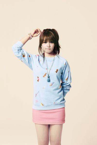 she's so cute! I love eunji