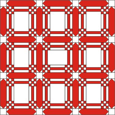 red white quilt sashing | Advanced Embroidery Designs. Free Projects and Ideas