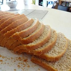 Best. Bread. Recipe. Ever. I changed my mind. I don't want a breadmaker. I'd rather get three loaves of this at a time!