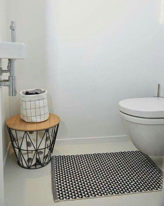 Wire Basket For Toilet Paper Storage