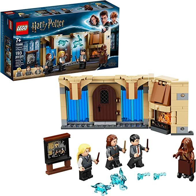 Lego Harry Potter Hogwarts Room Of Requirement 75966 Dumbledore S Army Gift Idea From Harry In 2020 Lego Harry Potter Hogwarts Room Harry Potter Lego Sets