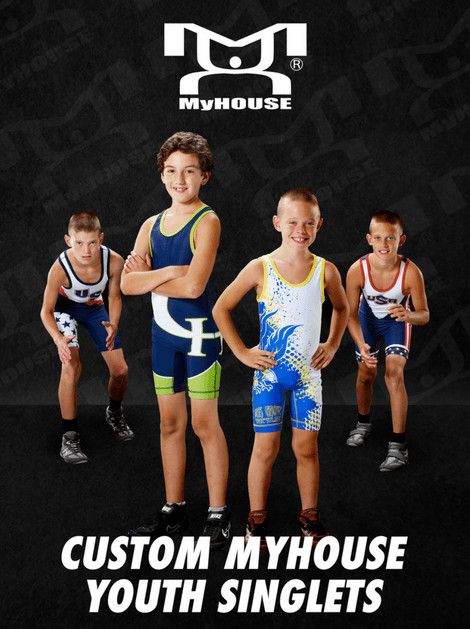 MyHOUSE Sports Gear provide you with youth sizes in our custom team gear such as singlets, fight shorts, quarter zips, warm-ups, and more. MyHOUSE is the leading seller of custom #wrestling gear in the USA.