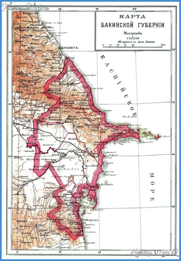 nice Baku/Sumqayit Map