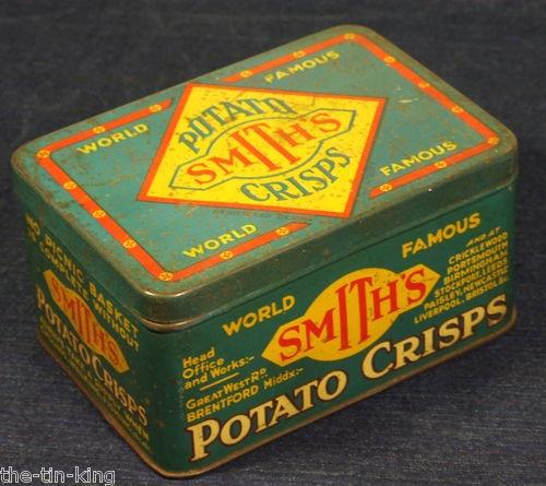 antique art deco tin smiths criscps 1920-30's