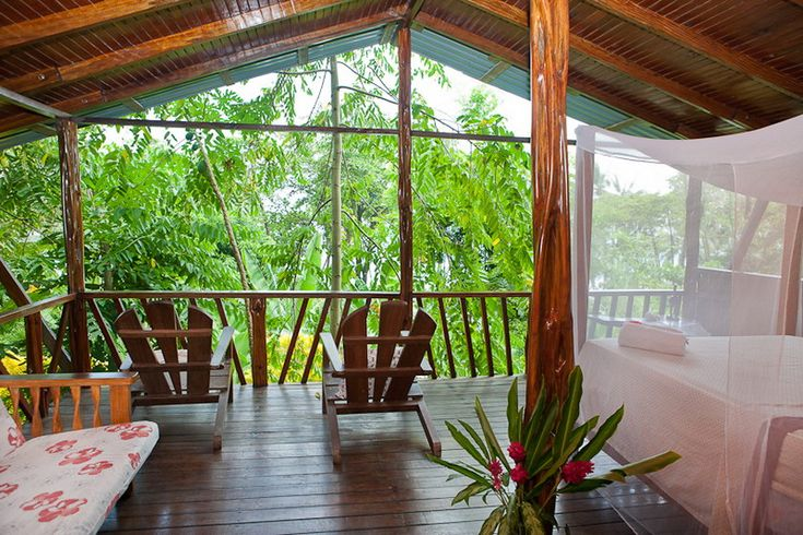 Total jungle view from your bed!!