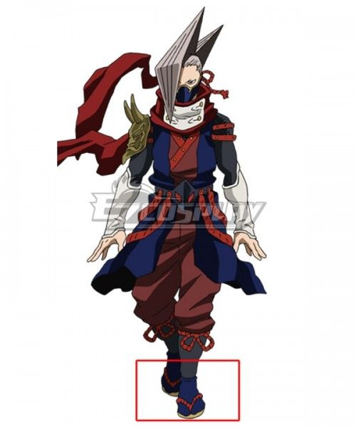My Hero Academia Boku No Hero Akademia Edgeshot Shinya Kamihara Red