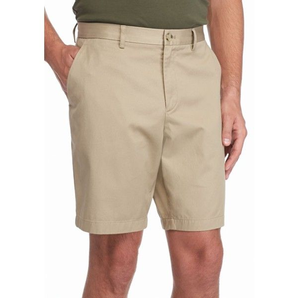 Long Khaki Shorts