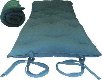 Brand New Hunter Green Traditional Japanese Floor Futon Mattresses Foldable Cushion Mats Yoga