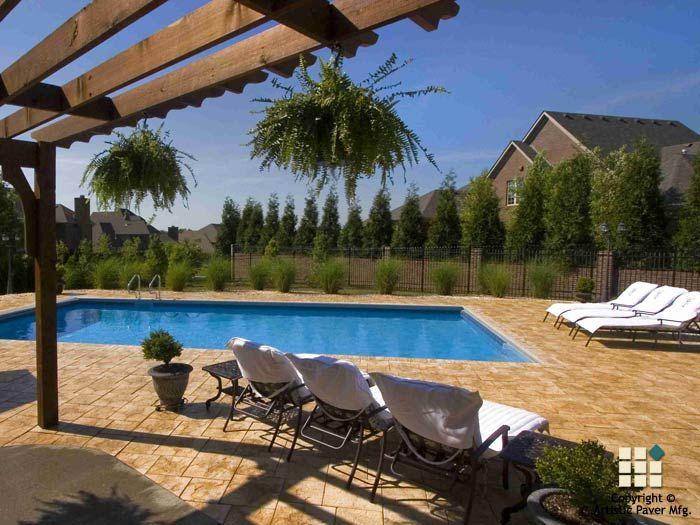 Stonelock Series #artisticpavers #tile #design #pool · Pool DecksPatio ...