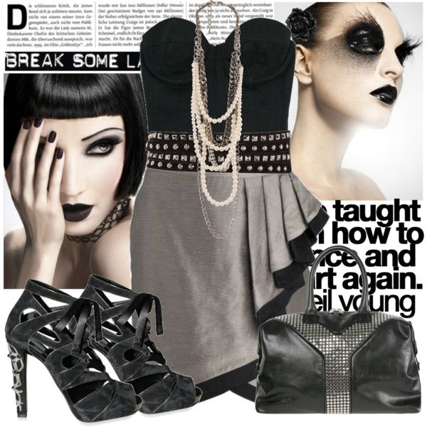 A fashion look from July 2009 featuring Debenhams skirts, Diego Dolcini sandals and Yves Saint Laurent tote bags. Browse and shop related looks.