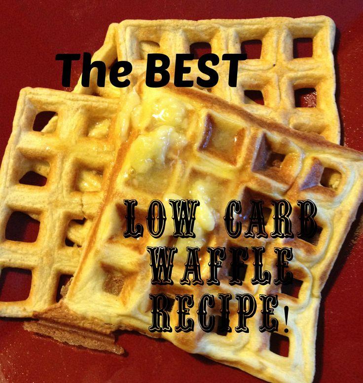 The best #lowcarb waffles recipe, only 2 ingredients! #keto #eggfast #atkins