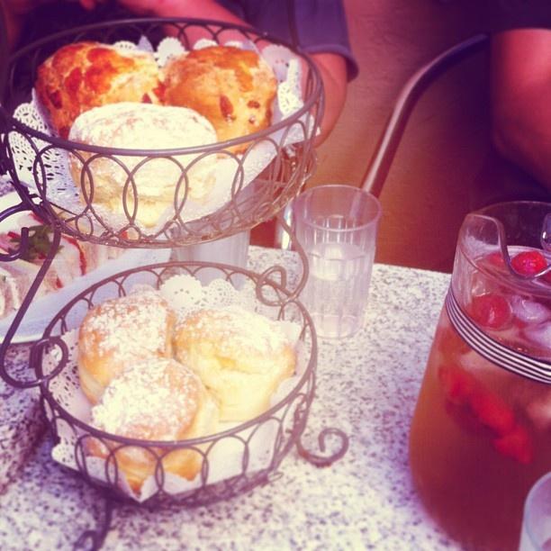 .@sillyaah | Afternoon #tea was #delicious ! #jam #strawberry #icedtea #sweet #cream #ber... | Webstagram - the best Instagram viewer