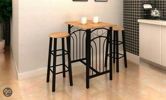 Bartafel en -stoelen