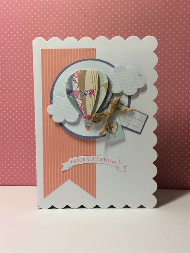 Bellissima new job card | docrafts.com
