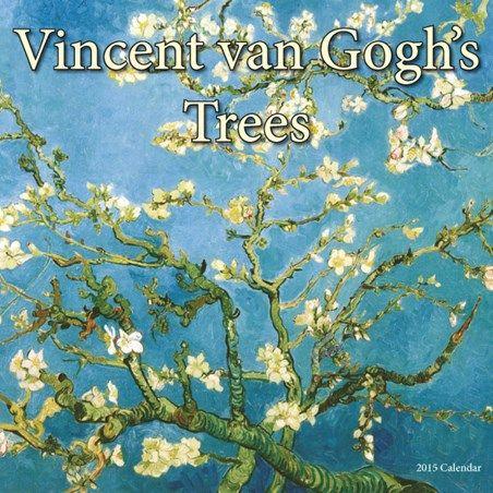 Vincent Van Gogh's Trees 2015 Square Calendar - Vincent Van Gogh #vangogh #2015calendar