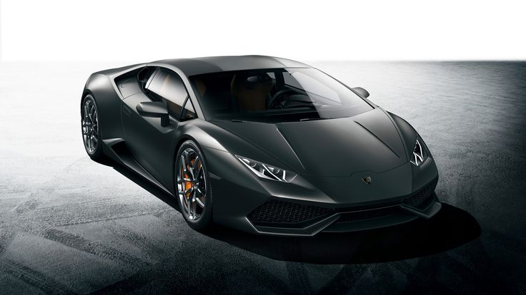 2015 Lamborghini Huracan Black High Definition Wallpapers - http://wallucky.com/2015-lamborghini-huracan-black-high-definition-wallpapers/