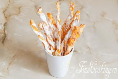 Шаг 16. Наши вкусные, ароматные и яркие морковные палочки-печеньки готовы