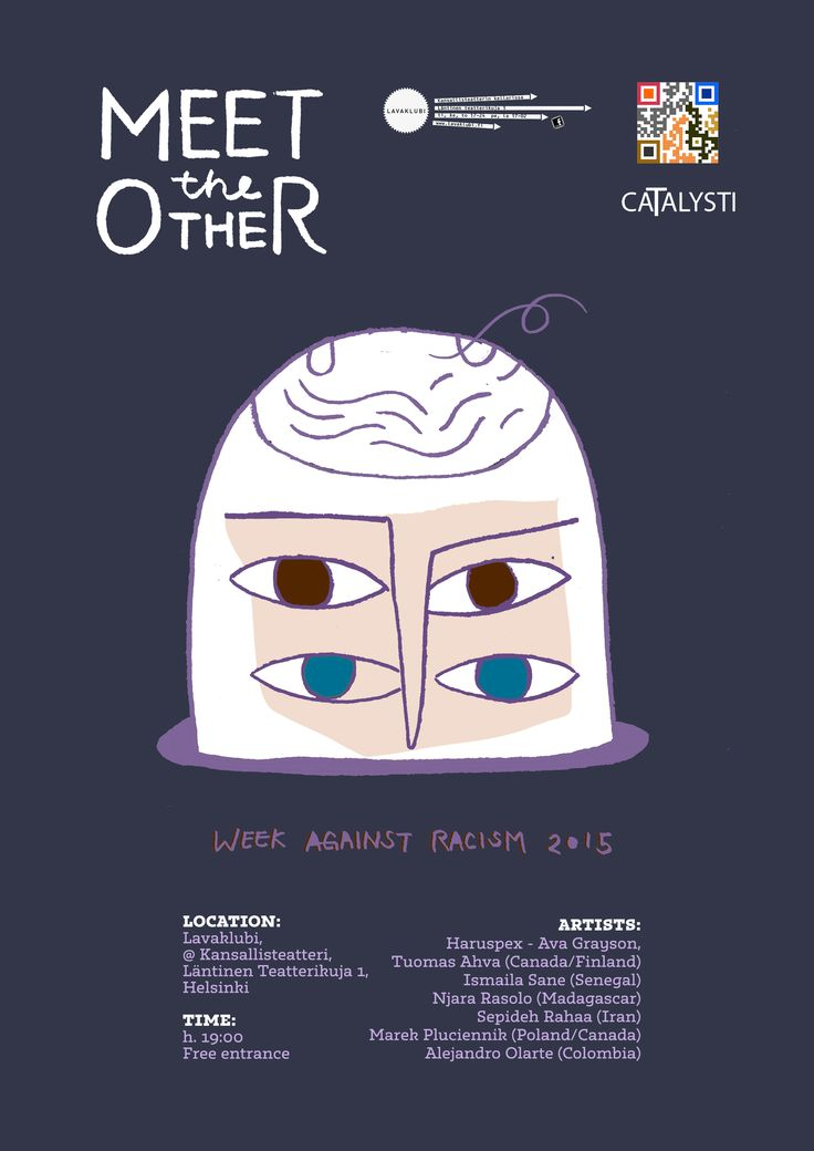 Meet the Other_Poster Illustration_Wensi Zhai