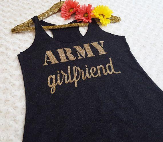 ARMY GIRLFRIEND, army girlfriend tank, army girlfriend shirt, army girlfriend gift, gift for her, birthday gift, Valentine's gift