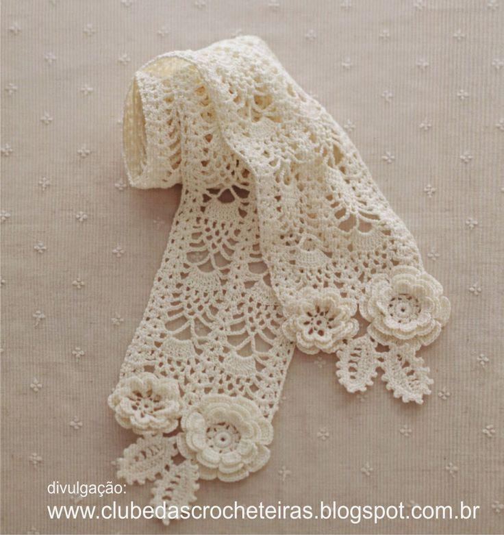 112 besten Irish crochet Bilder auf Pinterest   Stricken häkeln ...