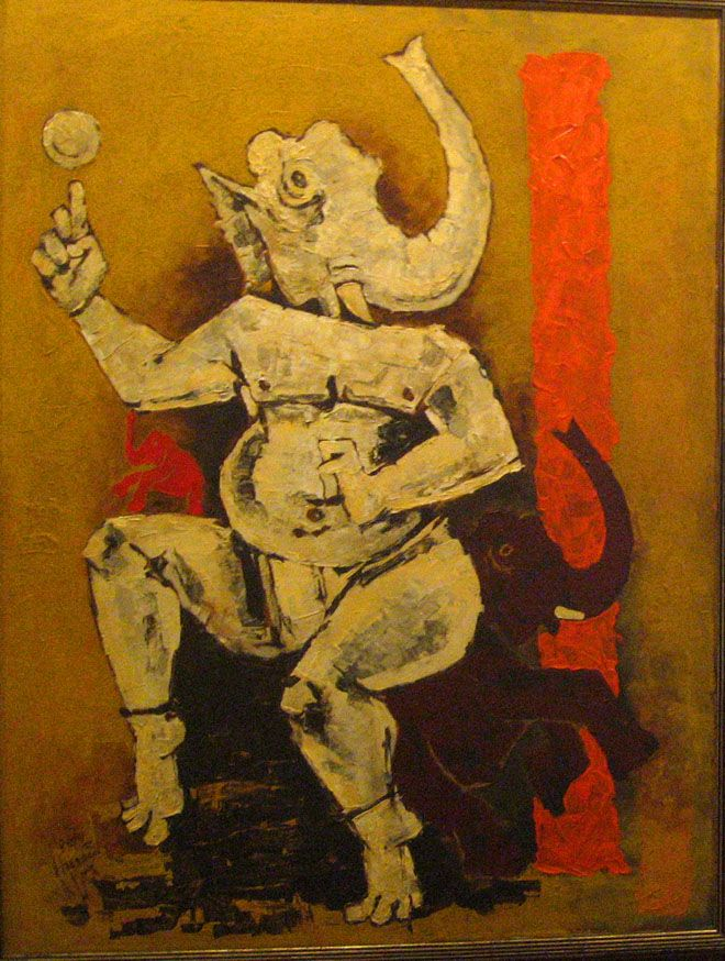 30 Controversial MF Hussain Paintings - Most Famous Indian Artist | Read full article: http://webneel.com/mf-husain-paintings-art-controversy-indian-artist | more http://webneel.com/paintings | Follow us www.pinterest.com/webneel