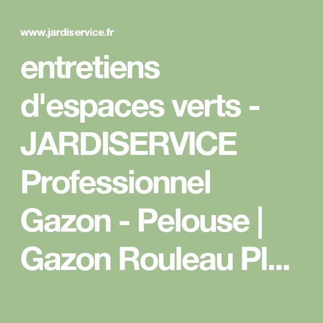 entretiens d'espaces verts - JARDISERVICE Professionnel Gazon - Pelouse | Gazon Rouleau Plaque | Essonne 91 (Ile de France)