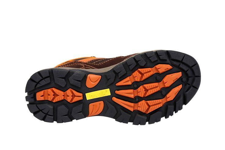 Amazon.co.jp: (ハイウォーク)Hiwalk 天然皮革防水通気性トレッキングシューズ 81518 (23.0, オレンジ): シューズ&バッグ:通販