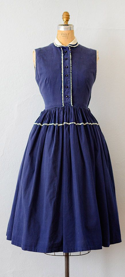 vintage 1950s dress | vintage 50s dress #1950s #50sdress #vintage