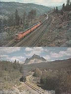 Railroad Postcards / LOT / Trains / Southern Pacific / Canadian National Railway