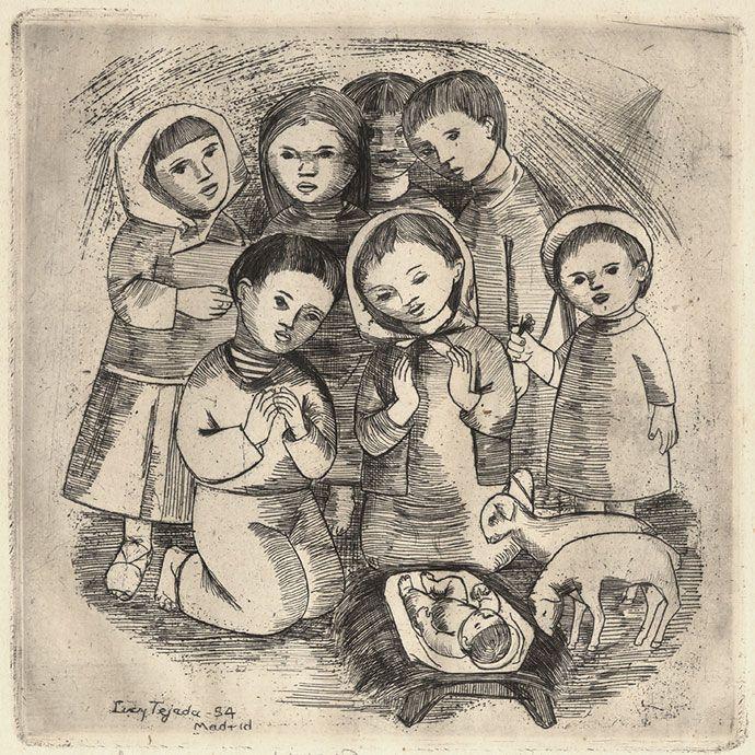 Descargue el regalo de Navidad de la fallecida pintora Lucy Tejada para los caleños