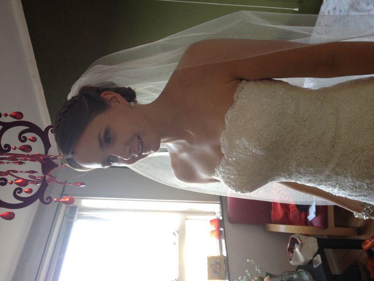 Weer een tevreden bruid voor www.lekkergeknipt.nl
