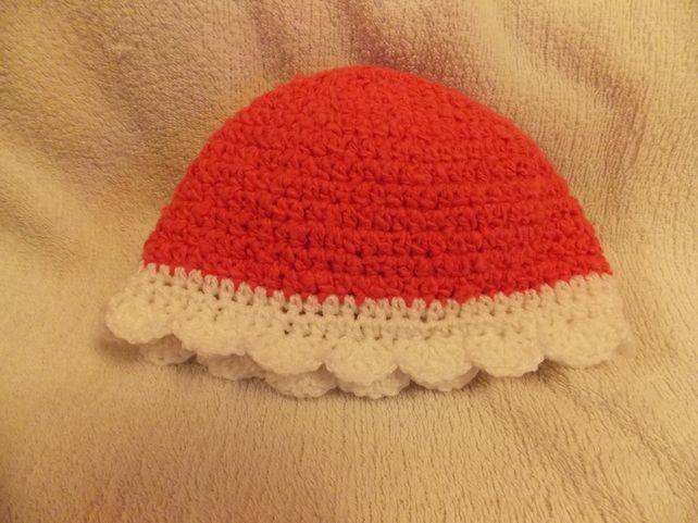 Pink Cloche Baby Hat