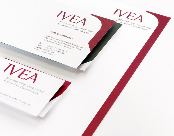 Irish Vocational Education Authority (IVEA) - Corporate Identity & Stationery