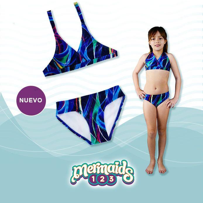 Bikini Medusa. La vida de toda Sirena está llena de magia y fantasía.  Con la nueva línea de Trajes de baño tendrás el complemento perfecto para tu cola de Sirena.