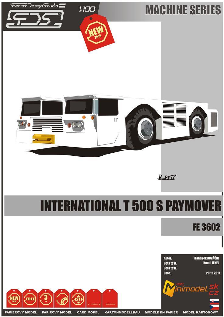 Inetrnatiol T 500 S Paymover