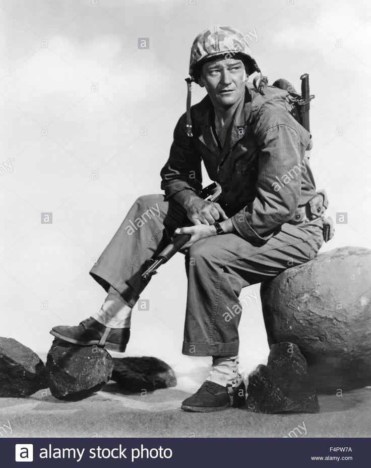 John Wayne / Sands Of Iwo Jima / 1949 Directed By Allan Dwan[republic Stock Photo, Royalty Free Image: 89013214 - Alamy