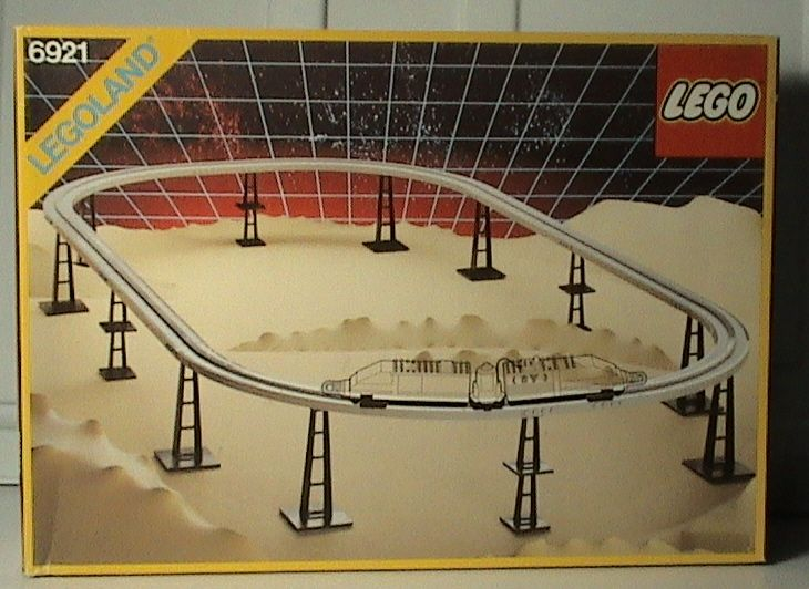 Set # 6921-1: Monorail Accessory Track