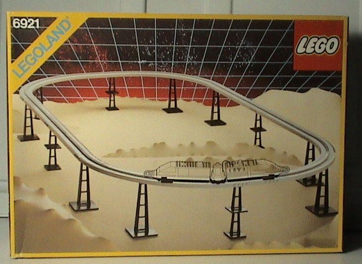 Set # 6921-1: Monorail Accessory Track