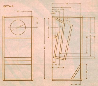 Folded Horn Speaker Plans By Werner Wood Working Pinterest Horns Flats And Cabinet Design