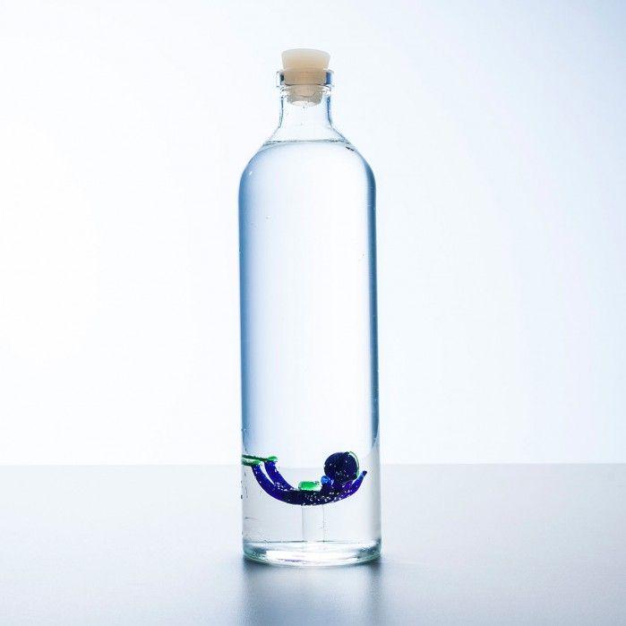 Bottiglia per acqua con subacqueo