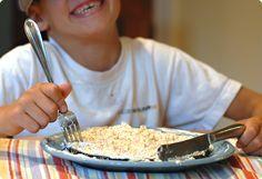 Boas maneiras à mesa para crianças