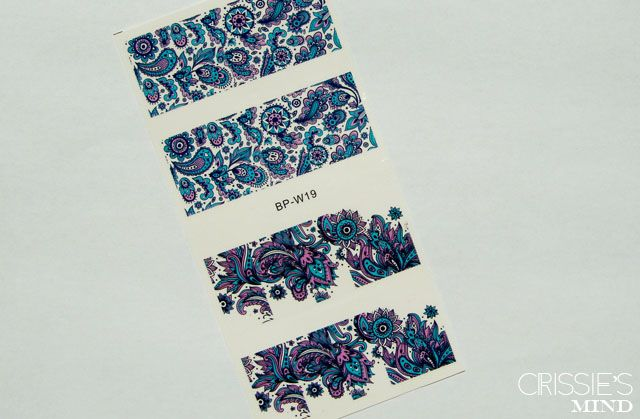 Blooming Flower Water Decals from Born Pretty Store