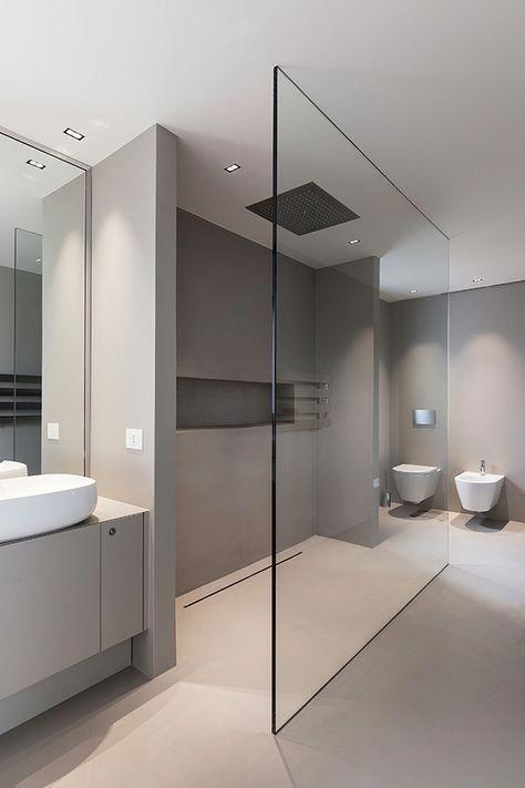 EK HOUSE | Italy On Behance #moderndesignbathrooms | Modern Design  Bathrooms In 2018 | Pinterest