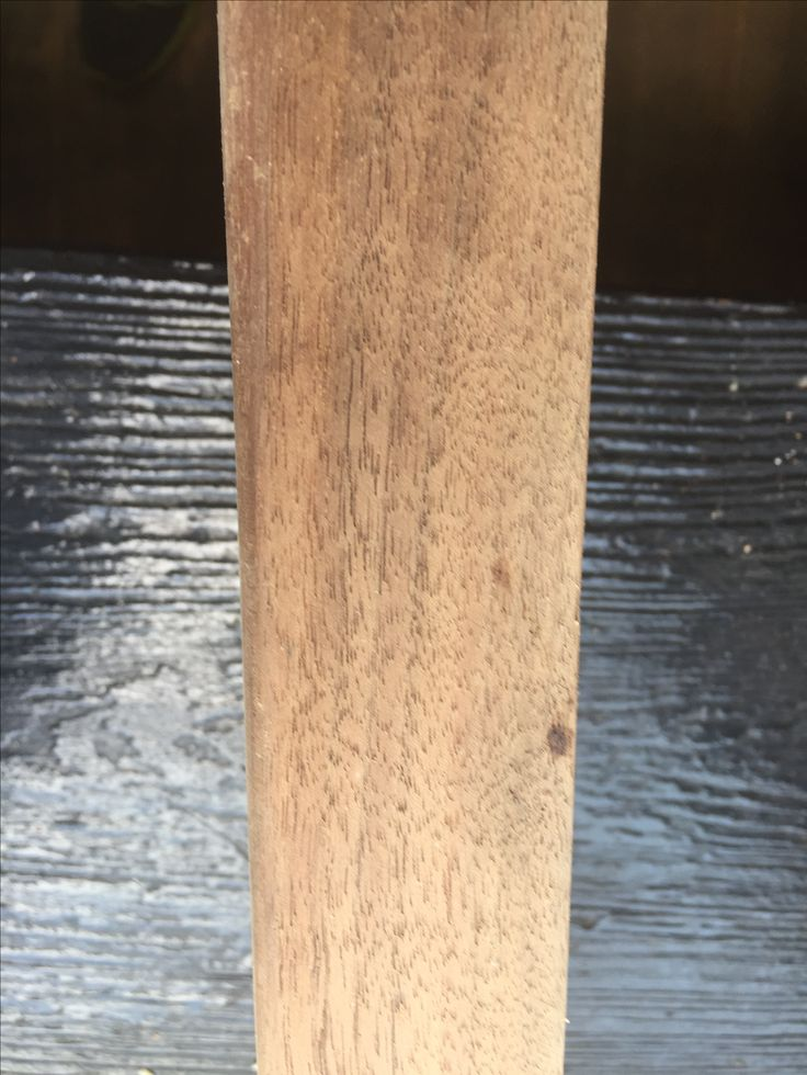 Sustainably cut walnut.  Beautiful, durable and expensive.