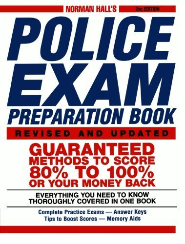 police officer study guide book
