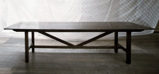 Original Finish  The Canteen Table