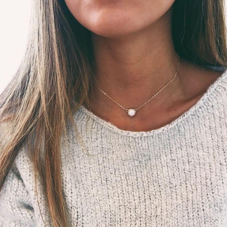 Opal Lili Choker Necklace