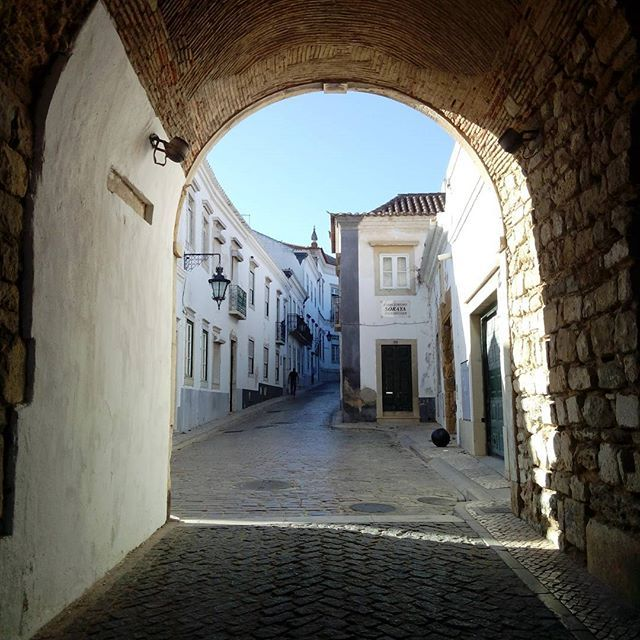 The doorway to the historic part of the city #portugal #faro #history #doorway #travel #buildings